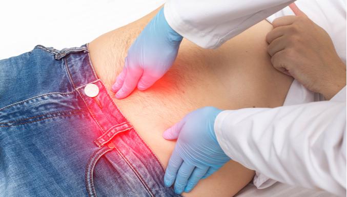Sintomas da próstata inchada?