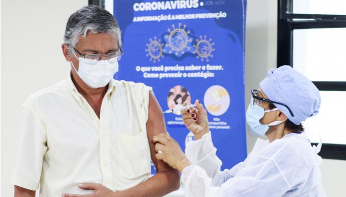 Brasil chega a marca de 100 milhões de vacinados contra a Covid-19