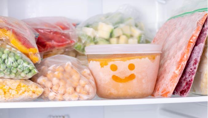 #FATO OU #BOATO: comida no congelador
