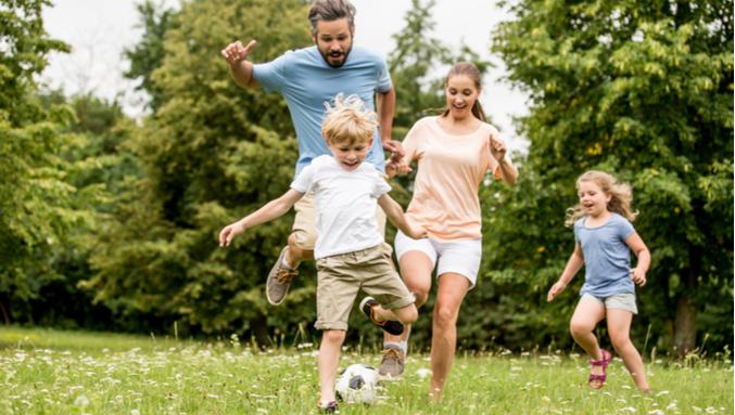 6 atividades com as crianças para se exercitar e se divertir